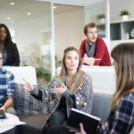 Meeting, Team, Workplace, Group, Diversity, People